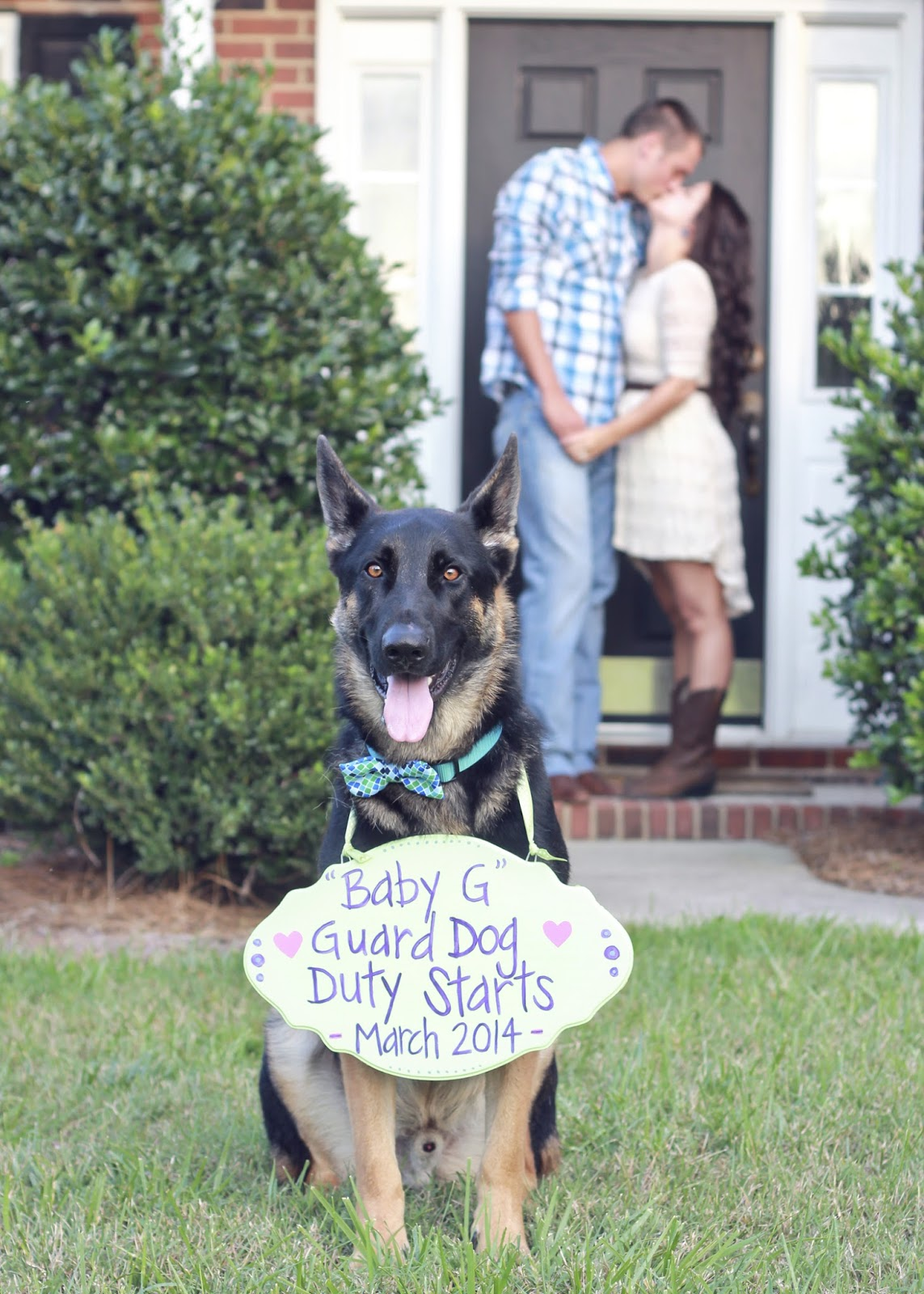 Sweet Little Nursery: 10 Great Pregnancy Announcement Pictures