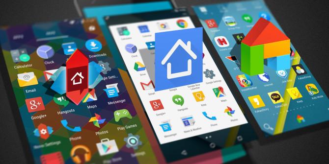 افضل تطبيقات الوجهات لهاتفك Android launcher 2017