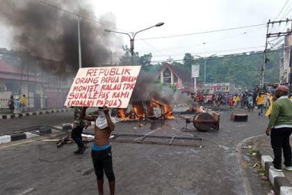 Papua Membara, Diduga Buntut Ucapan Oknum Aparat