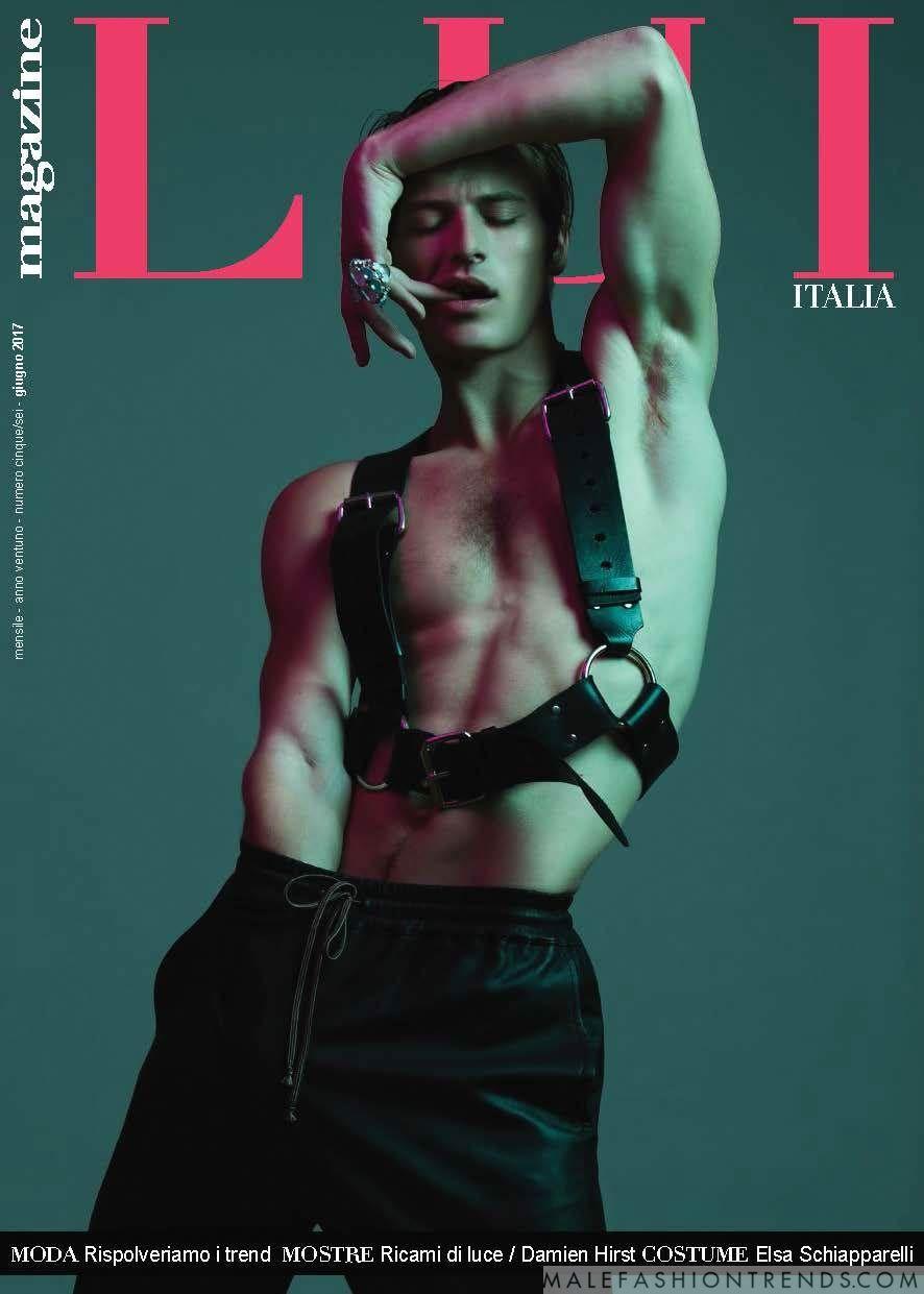Jules Raynal para LUI Magazine Mayo/Junio por Frederic Monceau