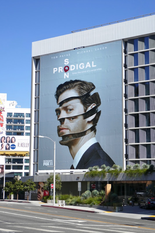 Giant Prodigal Son series launch billboard