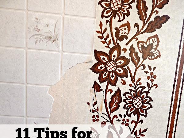 11 Tips for Removing Wallpaper