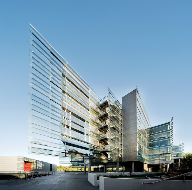 Modern Architecture on University of Auckland in New Zealand