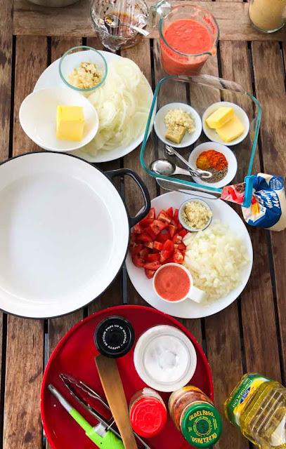 butter chicken ingredients