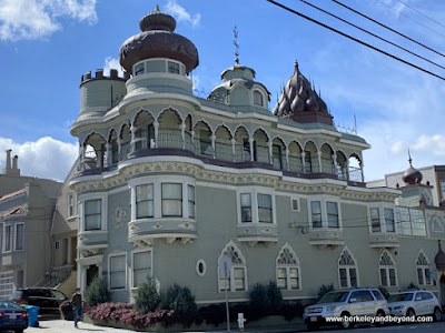 exterior of the main temple of the Vedanta Society of Northern California