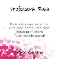 PROFESSORA ROSA