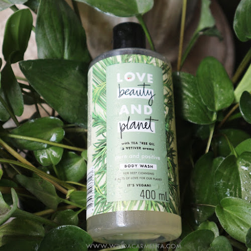 review love beauty planet body wash