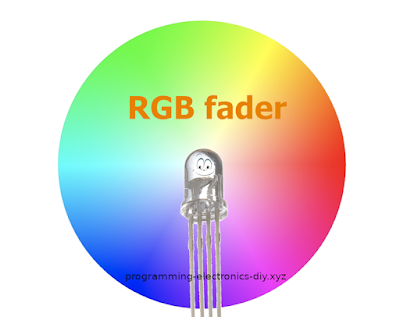 How to control RGB leds | Crossfading RGB leds | Library for AVR ATmega328P