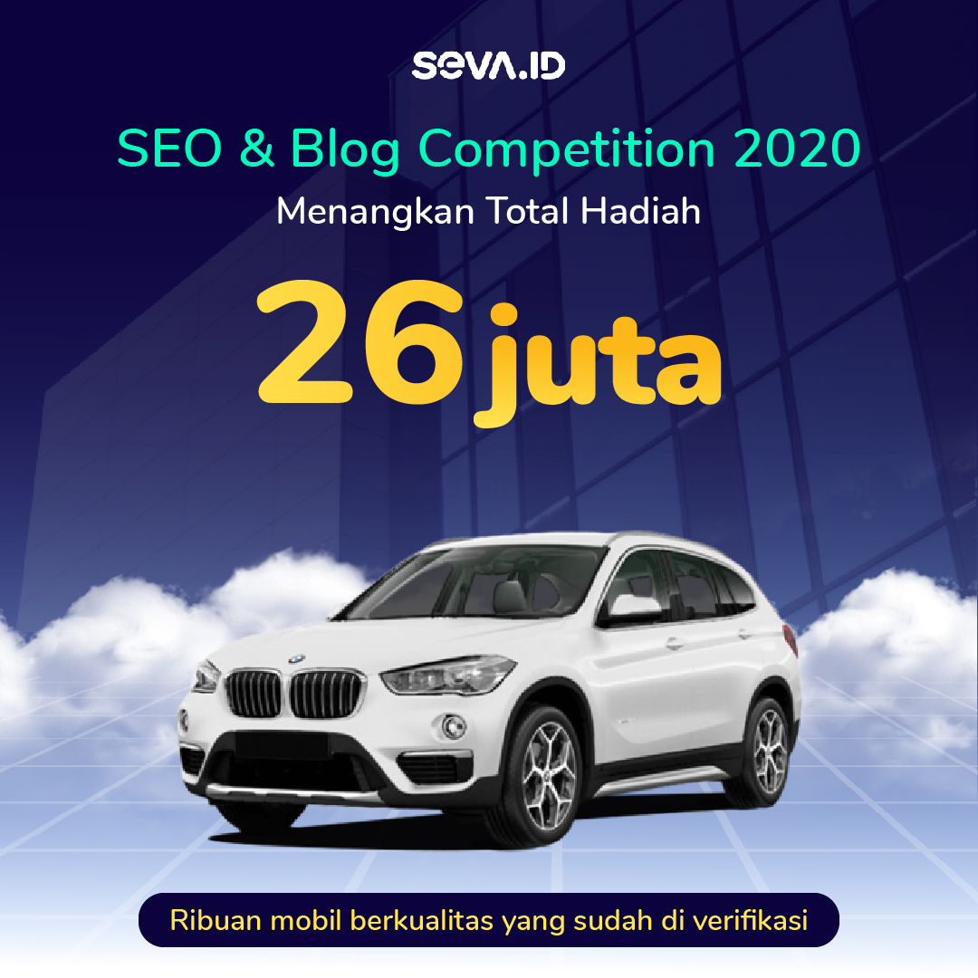 Banner Kontes sosiago.id - SEVA - SEO & Blog Competition November 2020