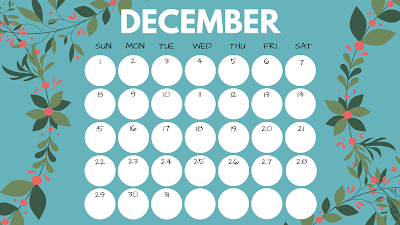 2019 (free) printable calendar