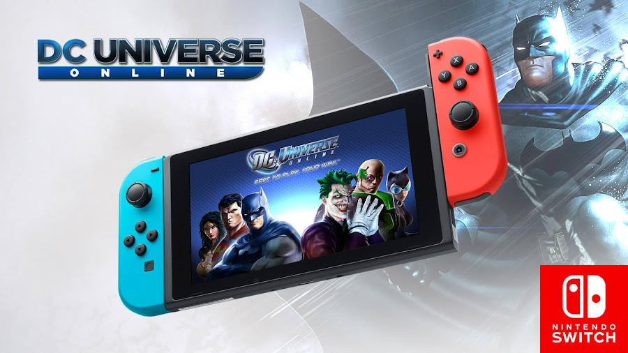 dc universe online nintendo switch wb games free to play
