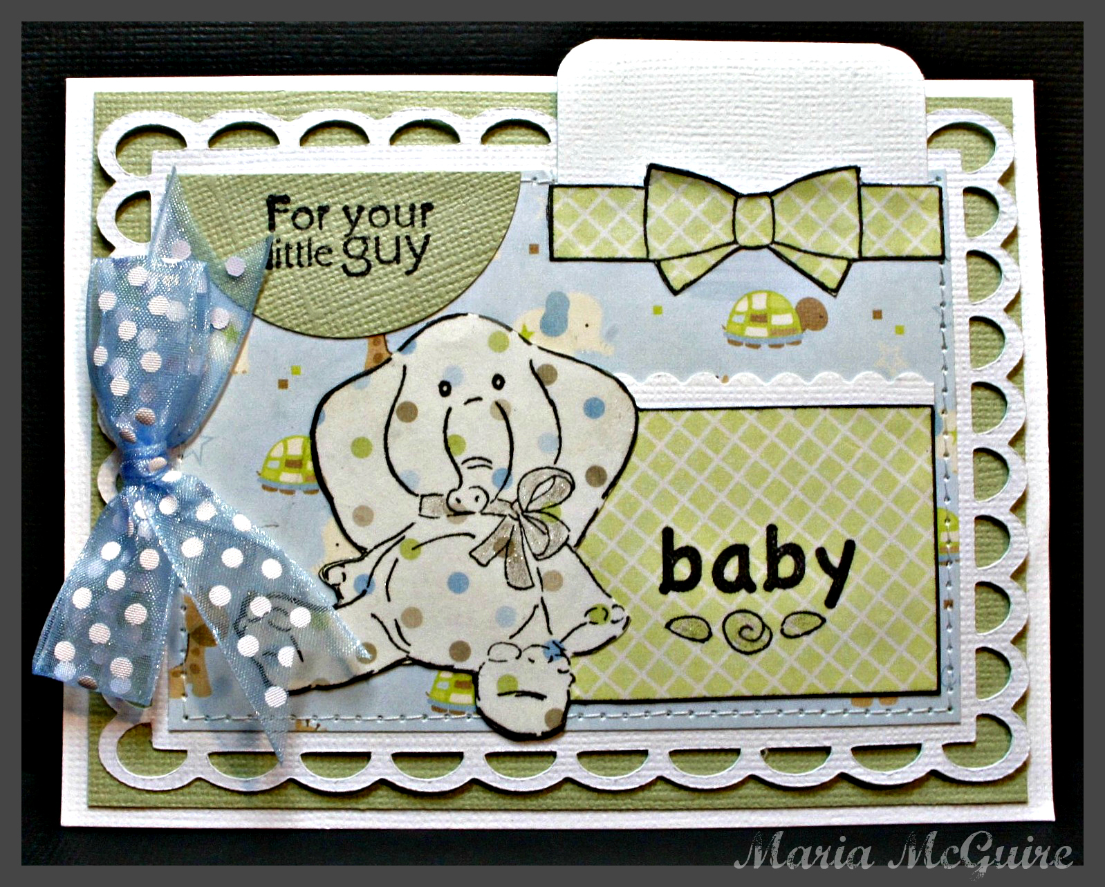 Art Impressions Blog Welcome Baby Gift Card