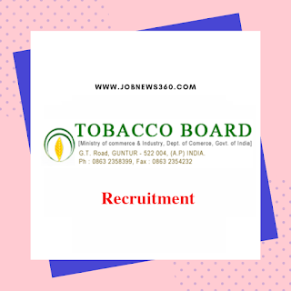 Tobacco Board Recruitment 2019 for Field Officer, Accountant (41 Vacancies)