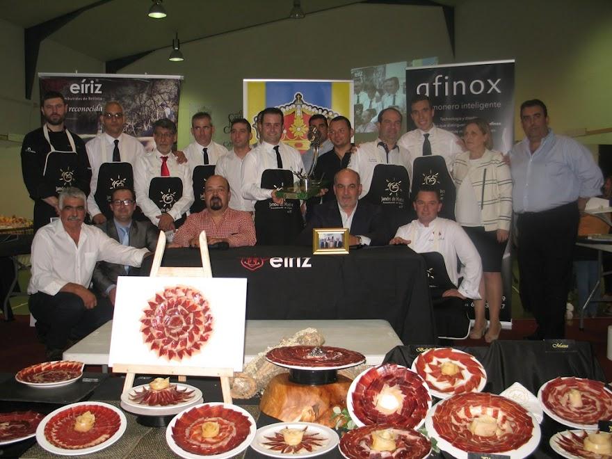 Jornadas gastronómicas y cinegéticas V Campeonato Nacional de cortadores de jamón