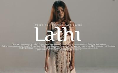 Lirik dan Chord Kunci Gitar LATHI ꦭꦛꦶ - Weird Genius Ft Sara Fajira