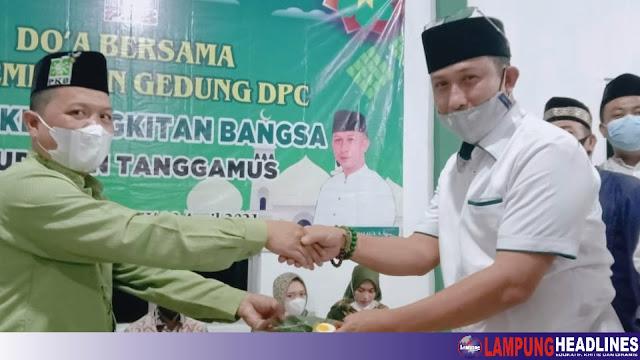 Tempati Gedung Baru, Keluarga Besar DPC PKB Tanggamus Gelar Do'a Bersama Dan Santuni Anak Yatim