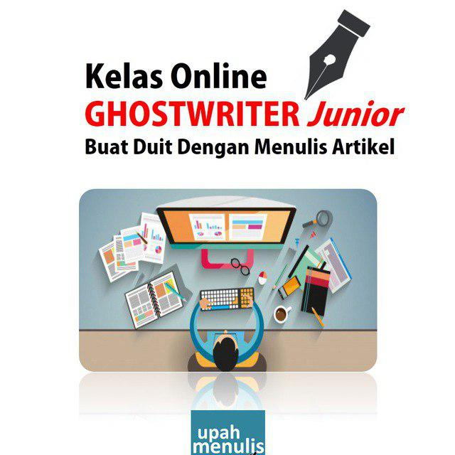 Kelas Online Ghostwriter Junior