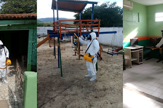 OSC CEACRI de Itapiúna realiza procedimento de controle microbiológico nos espaços da entidade