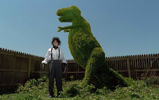 Dunia Sinema Edward Scissorhands Edward di Sebuah Kebun