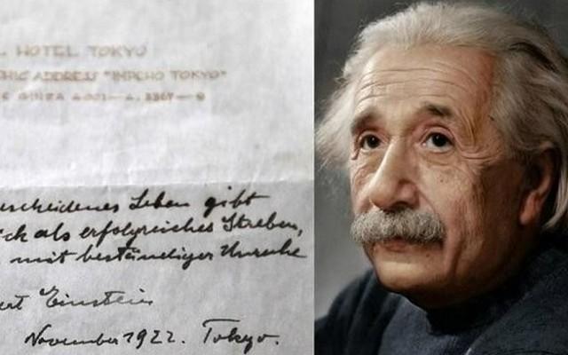 """Sepucuk """"Teori Kebahagiaan Einstein"""" ;"""