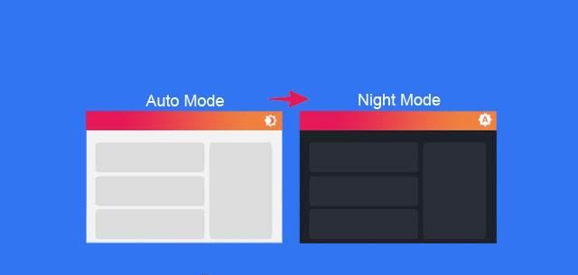 Dark Mode  Cara membuat Mode Malam (gelap) di Blog