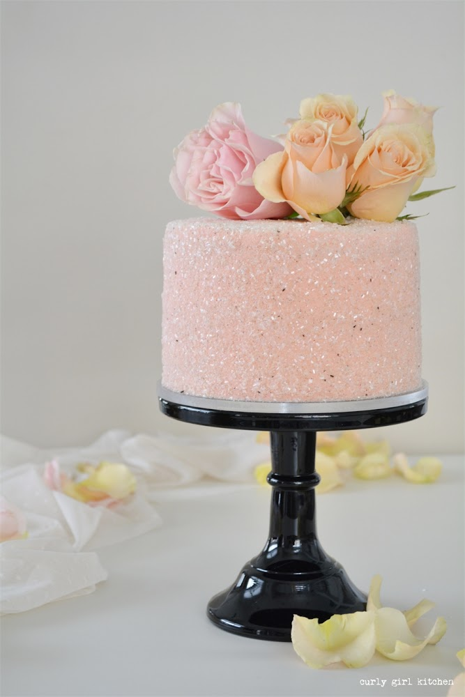 Chocolate Peppermint Cake, Cake with Sparkling Sugar, Valentines Cake, Cake with Flowers, Wedding Cake