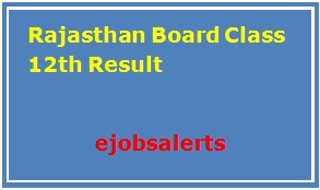 Rajasthan Board Class 12th Result 2017