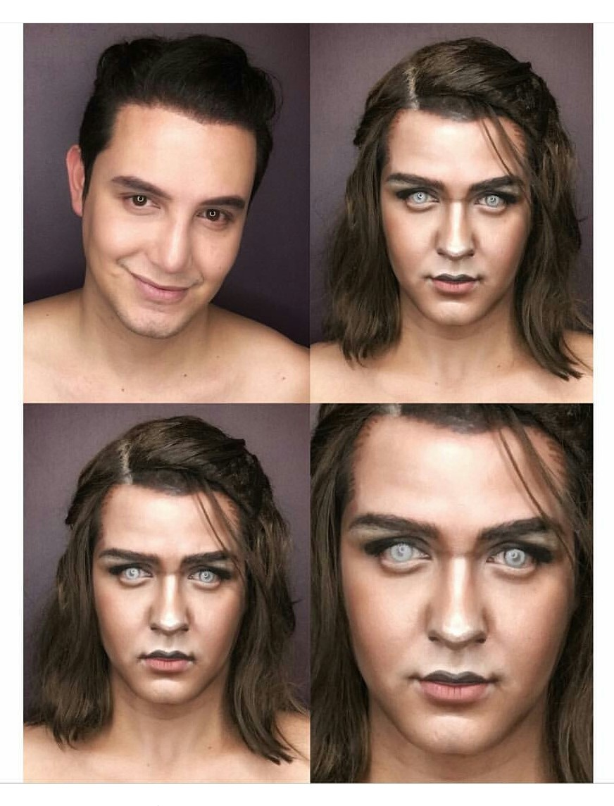 Game of Thrones make-up transformation, Game of Thrones