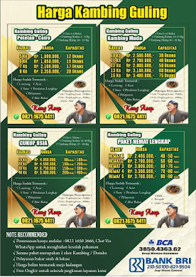 Harga Kambing Guling Kang Asep Lembang, harga kambing guling lembang, kambing guling lembang, kambing guling kang asep, kambing guling,