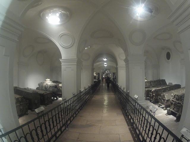 Cripta Imperial bajo la iglesia de los Capuchinos