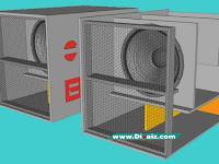 Skema Box Super Dynacord 18 inch Terbaru, Ukuran & Cara Membuatnya