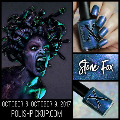 Baroness X Stone Fox • Polish Pickup October 2017 • Monsters & Myths