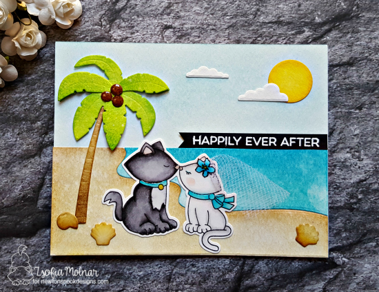 Happily ever after by Zsofia features Newton's Christmas Cuddles by Newton's Nook Designs, #newtonsnook