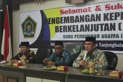 Kakankemenag Tanjungbalai Buka Kegiatan PKB Guru PAI