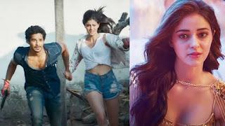 Khali Peeli movie trailer cast Ishan with Ananya