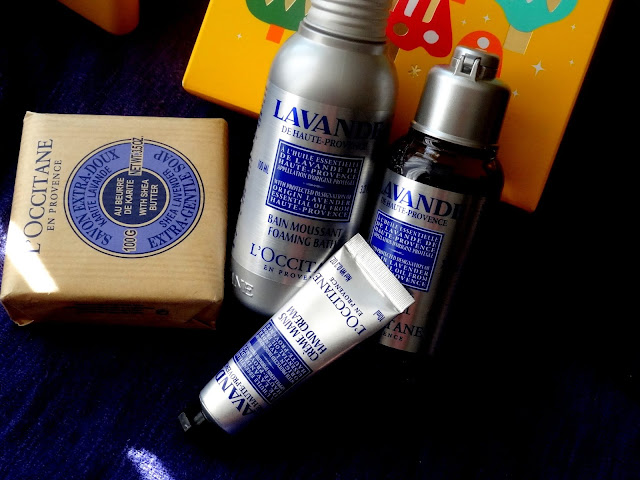 L'Occitane Lavender Travel Set