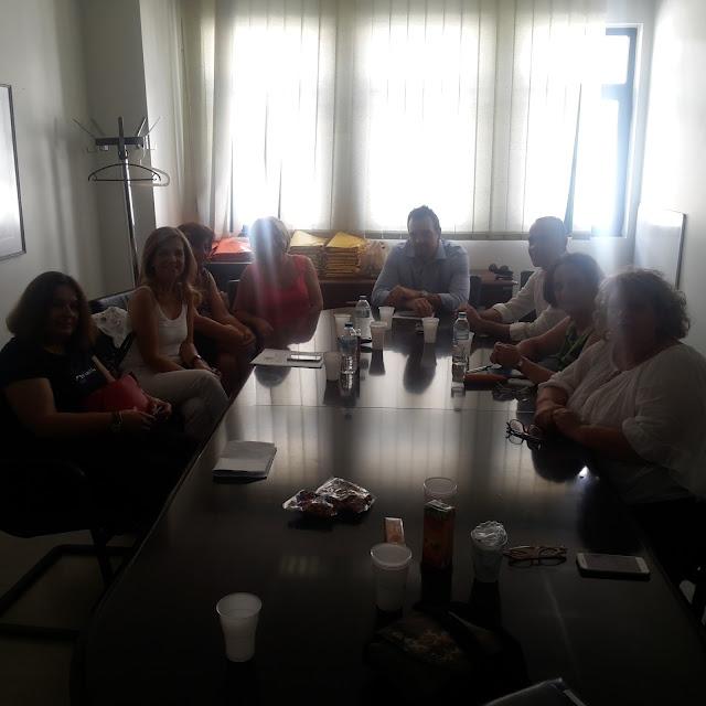 Γιάννενα: Μ.Τζούφη -Συναντήσεις Στο Νοσοκ.Χατζηκώστα Ενόψει Του Περιφερειακού Συνεδρίου Παραγωγικής Ανασυγκρότησης