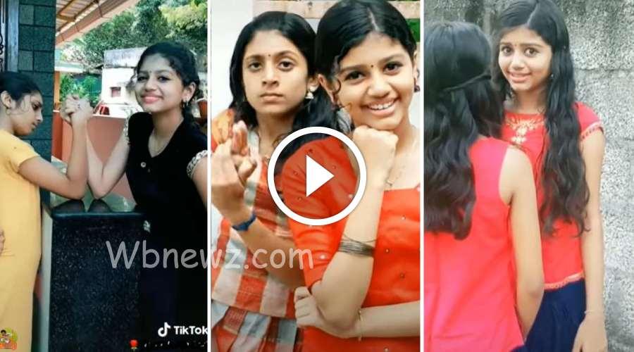 அக்கா தங்கை நடனத்துடன் அழகான எக்ஷ்ப்ரஷன்😘😘கண்களுக்கு விருந்தாய் டிக் டாக்!
