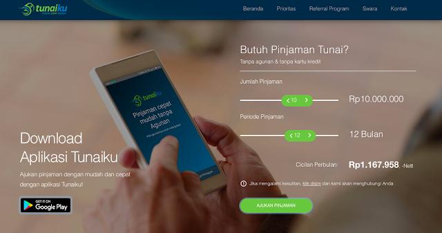 website pinjaman uang