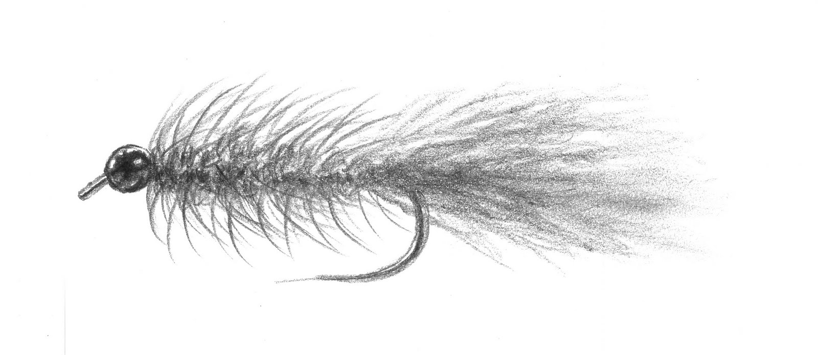 fly fishing fly drawings - photo #16