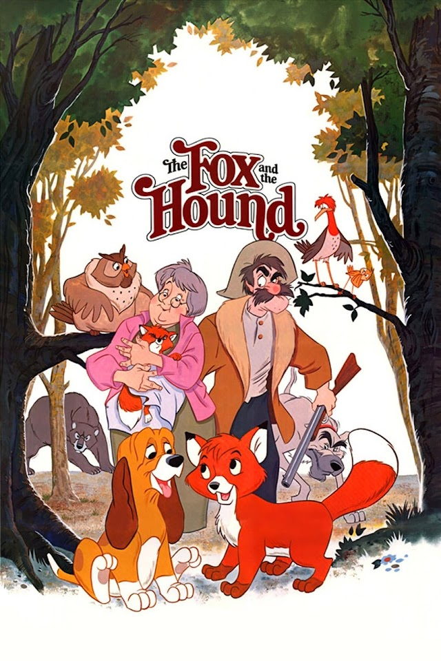 The Fox and the Hound 1981 x264 1080p Esub English Hindi THE GOPI SAHI