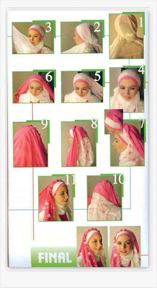 Lestary Cara Memakai Jilbab Berbagai Model
