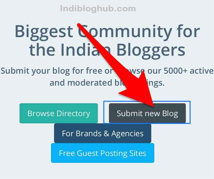 What is Indibloghub and how to submit your blog to it?   RKTindia