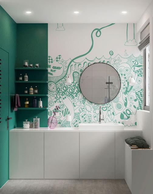 Indian Modern Bathroom Design