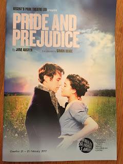 Pride & Prejudice Play Programme