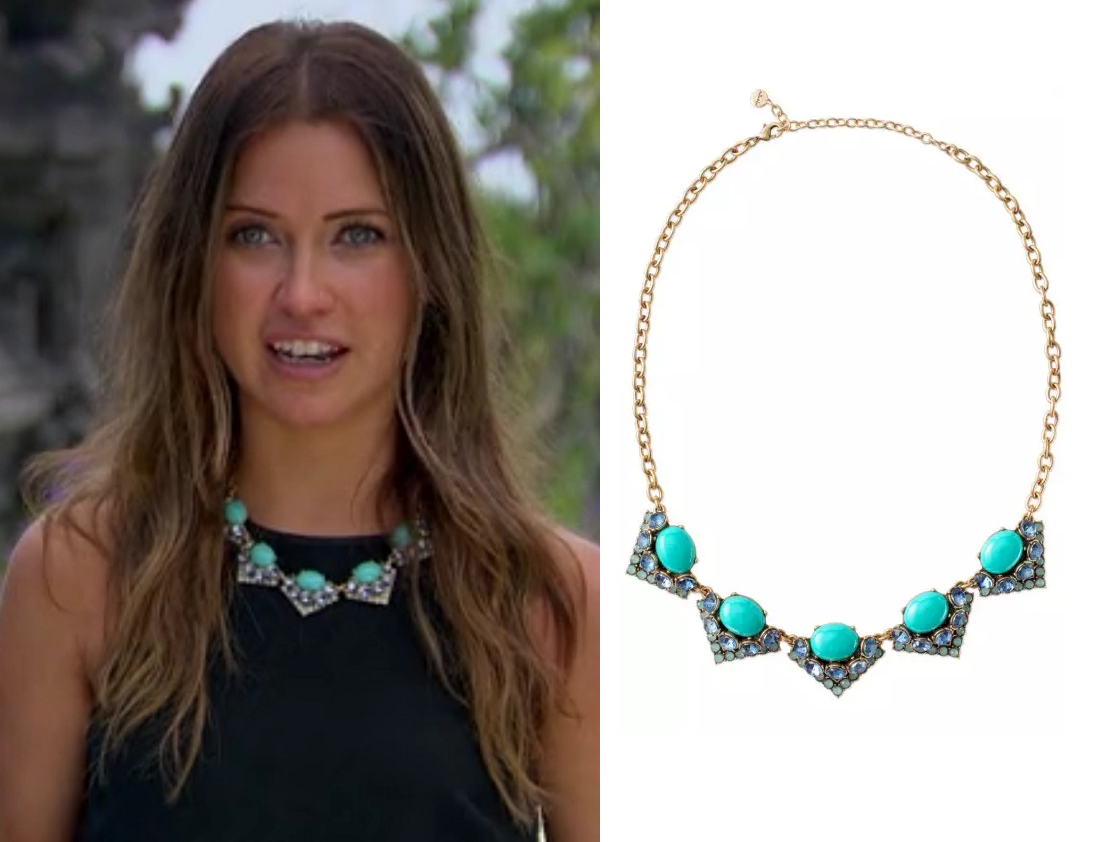 Kaitlyn in the Stella & Dot Rory Necklace on The Bachelor