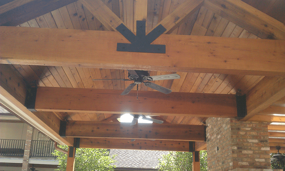 Custom Outdoor Patio Construction DFW 13