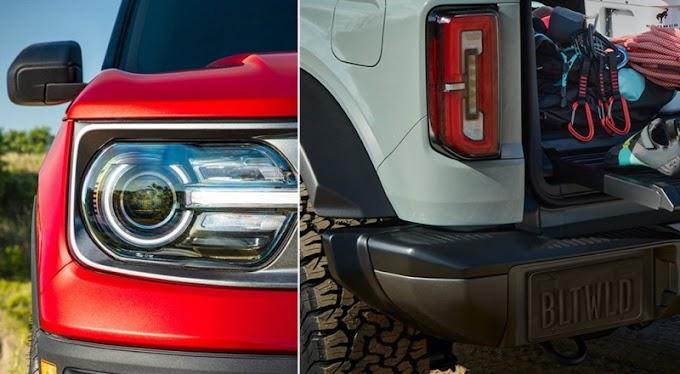 Ford Bronco tem imagens de nova geração reveladas antes do lançamento