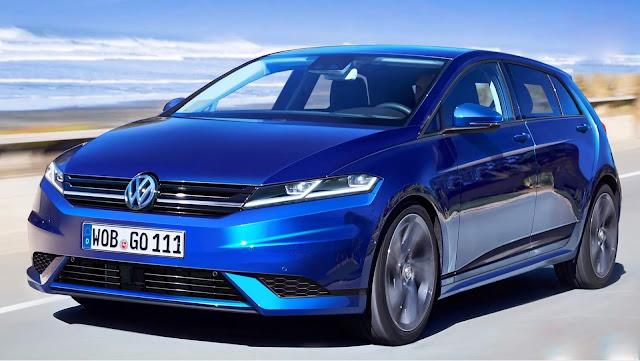 Novo VW Golf Mk8 2020