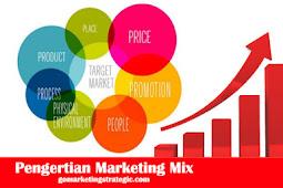 Pengertian Marketing Mix Untuk Meningkatkan Penjualan